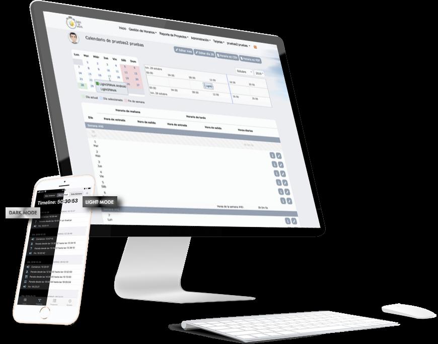 Light of Work | sistema de gestion de horarios y proyectos gratuito